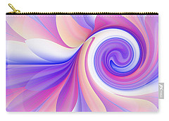 Flowering Pastel Carry-all Pouch