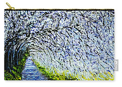 Flowering Tree Lane Carry-all Pouch