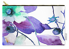Flowers 01 Carry-all Pouch