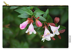 Carry-all Pouch featuring the photograph Flowers 1 by Ayasha Loya