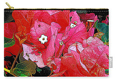 Flowers 14 In Abstract Carry-all Pouch