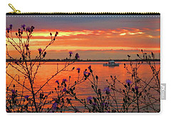 Flowers Along The Shore At Tibbetts Point  Carry-all Pouch