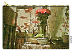 Flowers And Foliage Carry-all Pouch