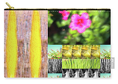 Flowers And Plants Impressionistic Carry-all Pouch