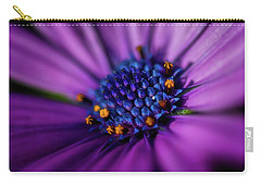 Carry-all Pouch featuring the photograph Flowers And Sand by Darren White