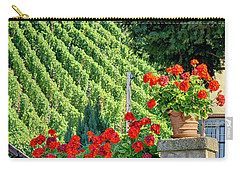 Flowers And Vines Carry-all Pouch