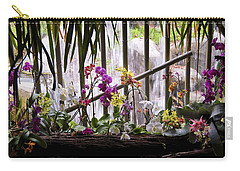 Flowers And Waterfall Carry-all Pouch