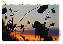 Flowers At Sundown Carry-all Pouch
