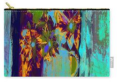 Flowers Beneath A Bleeding Sun Carry-all Pouch