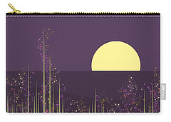 Flowers Blooming At Night Carry-all Pouch