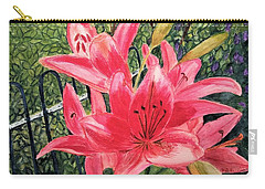 Flowers By The Gate Carry-all Pouch