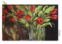 Flowers Feed The Soul Carry-all Pouch
