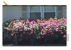 Carry-all Pouch featuring the photograph Flowers Floral Presentation Home Decorations Gifts For Christmas Holidays Birthday Anniversary Mom  by Navin Joshi