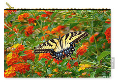 Flowers For Butterflies Carry-all Pouch