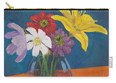 Flowers For Gary Carry-all Pouch