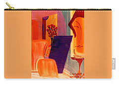 Flowers For Matisse 2  By Bill O'connor Carry-all Pouch by Bill OConnor