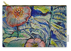 Flowers Gone Wild Carry-all Pouch