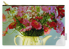 Flowers In A Teapot Carry-all Pouch