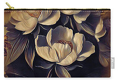 Flowers In Fall Carry-all Pouch
