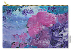 Flowers In The Clouds Carry-all Pouch