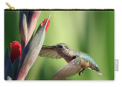 Flowers Nectar Carry-all Pouch