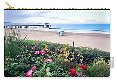 Flowers Of Manhattan Beach Carry-all Pouch