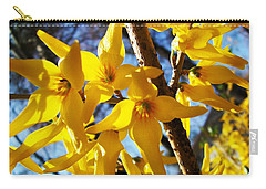 Flowers Of The Sky Carry-all Pouch