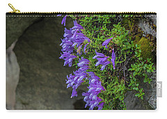 Flowers Carry-all Pouch by Rod Wiens