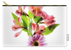 Carry-all Pouch featuring the photograph Flowers Transparent  2 by Tom Mc Nemar
