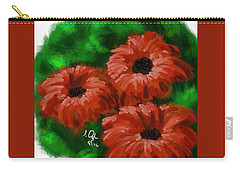 Flowers1 Carry-all Pouch
