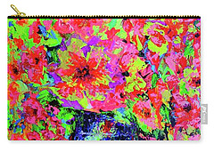 Flowers#2 Carry-all Pouch by Viktor Lazarev