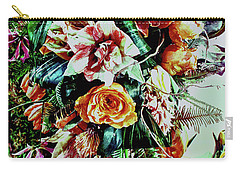 Flowing Bouquet Carry-all Pouch