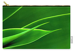 Flowing Green Carry-all Pouch