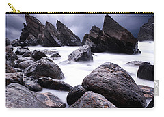 Carry-all Pouch featuring the photograph Flowing by Jorge Maia