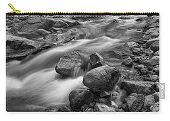 Carry-all Pouch featuring the photograph Flowing Rocks by James BO Insogna