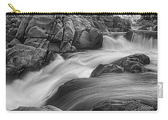 Carry-all Pouch featuring the photograph Flowing Waters At Kern River, California by John A Rodriguez