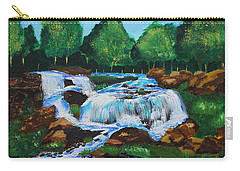 Flowing Waters Carry-all Pouch