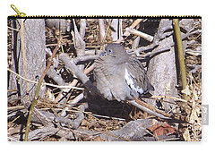 Fluffy Dove Carry-all Pouch