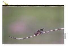 Fluffy Hummingbird Carry-all Pouch