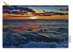 Fluid Sunset Carry-all Pouch