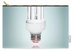 Fluorescent Light Bulb Carry-all Pouch