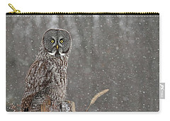 Flurries In The Forecast Carry-all Pouch by Heather King