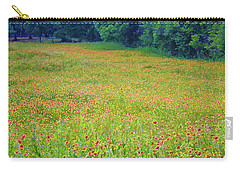 Flush With Flowers Carry-all Pouch