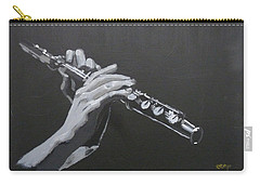 Flute Hands Carry-all Pouch