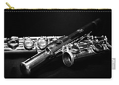 Flute Series I Carry-all Pouch by Lauren Radke