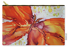 Carry-all Pouch featuring the painting Flutter by Joanne Smoley
