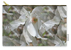 Fluttering Magnolia Petals Carry-all Pouch