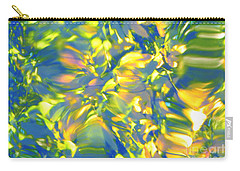 Fluttering Of Color Carry-all Pouch