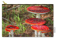 Fly Agaric Amanita Muscaria Carry-all Pouch