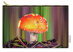 Carry-all Pouch featuring the photograph Fly Agaric #g7 by Leif Sohlman